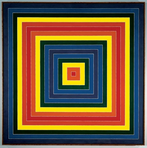 Feinstein_Abstract Classicists_Frank Stella_Gran Cairo 1962