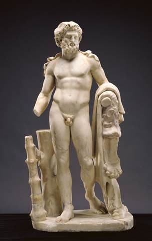 Unknown, Statue of Hercules, Roman, 100 - 199